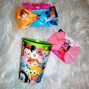 💚💛NEW! BOGO Disney Hair Bows + FREEBIES 💜💙